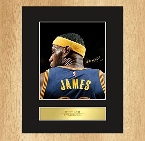 Lebron James targhetta Photo Display Cleveland Cavaliers