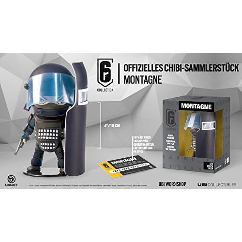 Ubisoft Six Collection Merch Montagne Chibi Figurine - PlayStation 4