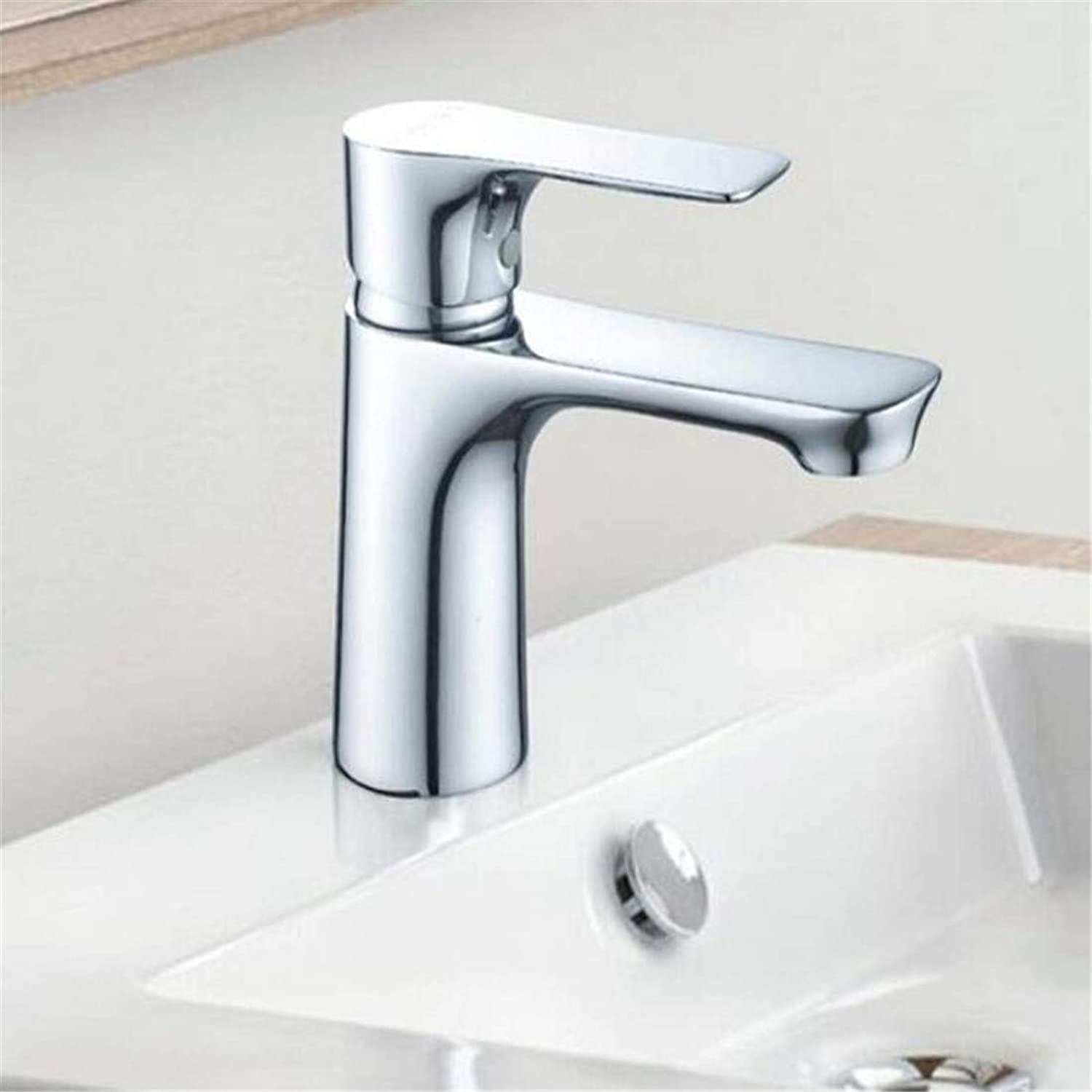 Faucet Vintage Plated Deck Mounted Faucet Faucet Washbasin Mixer Sanitary Ware Cold and Hot Touch Faucet Basin Mixer Single Handle Mixer Tap Faucet