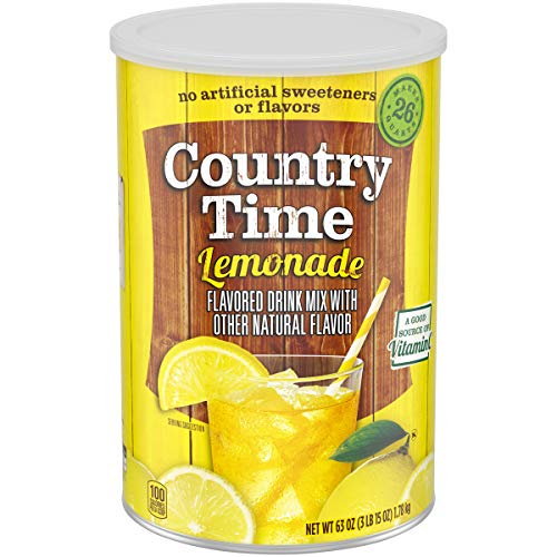 Country Time Lemonade Flavoured Drink Mix - Lemonade Powder, 1.78 Kg
