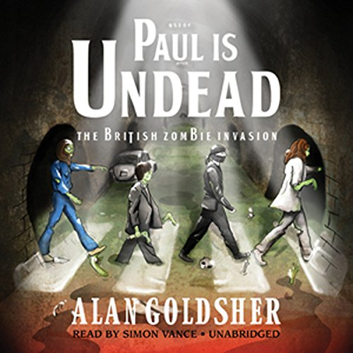 Paul Is Undead audiobook cover art