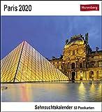 Paris Postkartenkalender 2020. Wochenkalendarium. Blockkalender. Format 16 x 17,5 cm - Harenberg