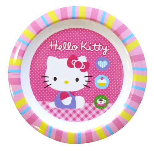 Spel - 004877 - Ameublement et Décoration - Assiette - Hello Kitty - Mélamine