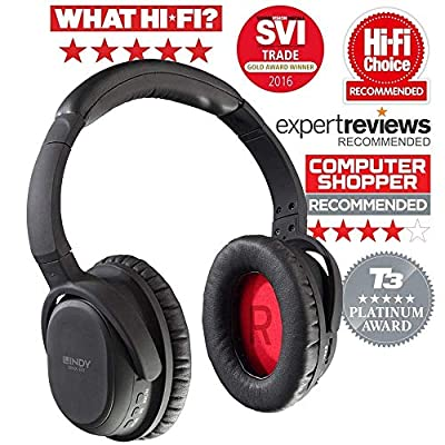 LINDY BNX-60 - Bluetooth Wireless Active Noise Cancelling Headphones with aptX from LINDY