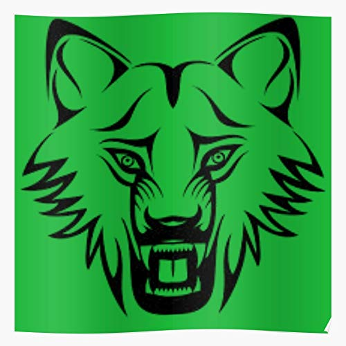 Forest Hashtag Comic Angry Loin Tiger Thirsty Home Decor Wall Art Print Poster !