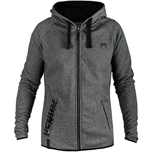 Venum Herren Contender 2.0 Sweatshirt, Grau/Schwarz, S