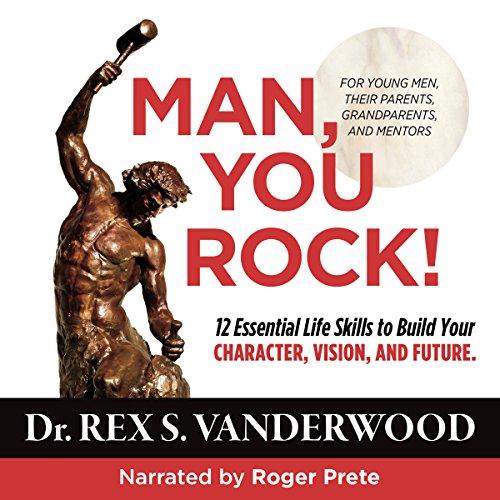 Man, You Rock! audiobook cover art