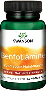 Sponsored Ad - Swanson Maximum-Potency Benfotiamine 300 Milligrams 60 Veg Capsules
