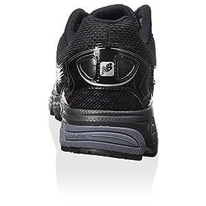 New Balance Men's M580BS4, Running Shoe, Black/Silver (10 (4E Wide))
