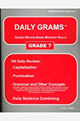 Daily Grams: Guided Review Aiding Mastery Skills : Grade 7 Paperback