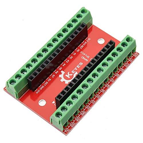 LaDicha 10Pcs Nano Io Shield Expansion Board For Arduino
