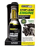 XADO ATOMEX Stop Leak Engine Oil Additive Sealer (Bottle, 250 ml) - Repair Gaskets & Seals Treatment