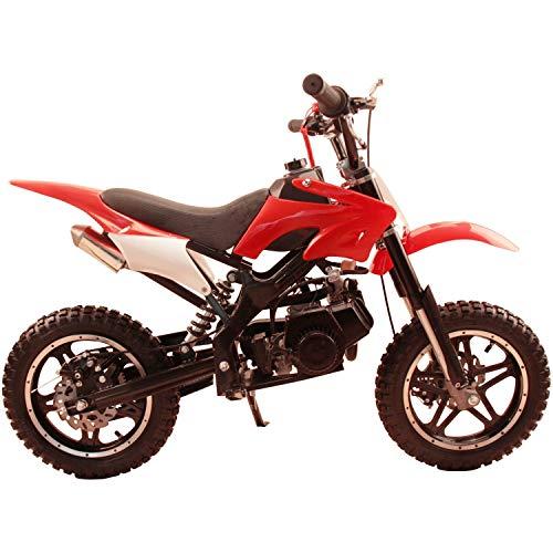 DB50X 48L KIDS 49CC 2 STROKE GAS MOTOR DIRT MINI POCKET BIKE (Red)