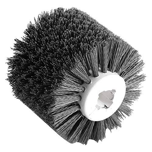 Ruedas de pulido de pulido de madera de alambre abrasivo para máquina de trefilado eléctrica, grano 320#, rueda de pulido, rueda de pulido y pulido, rueda de trefilado, rueda pulidora zm42