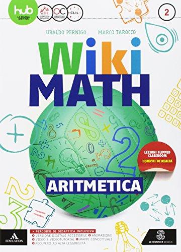 Wiki math. Aritmetica-Geometria. Per la Scuola media. Con e-book. Con espansione online (Vol. 2)