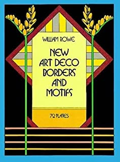 New Art Deco Borders and Motifs (Dover Pictorial Archive)