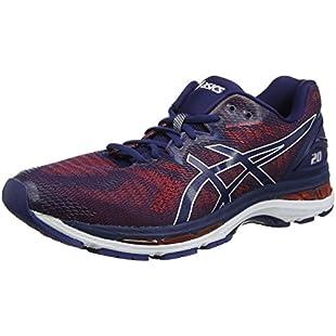 Asics Men's Gel-Nimbus 20 Competition Running Shoes, Blue (Indigo Blue/Indigo Blue/Fiery Red 4949), 11 UK (46.5 EU)