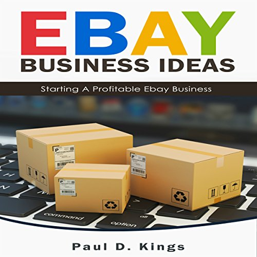 eBay Business Ideas audiobook cover art