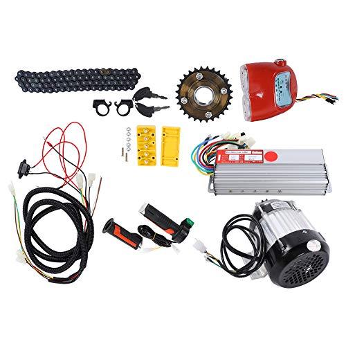 idalinya Kit de conversión de Motor, Kit de Motor de Bicicleta eléctrica, Profesional 48V 800W para Bicicleta eléctrica, Triciclo, Scooter, Duradero, 8.0x3.1x1.6 en Rickshaw