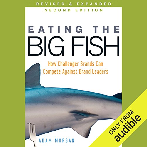 Eating the Big Fish audiobook cover art
