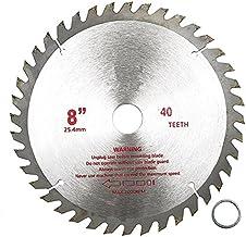 LMIAOM 200mm x 25.4 mm 40 dientes punta de carburo Hoja de sierra Cortador de carpintería Accesorios de hardware Herramientas de bricolaje