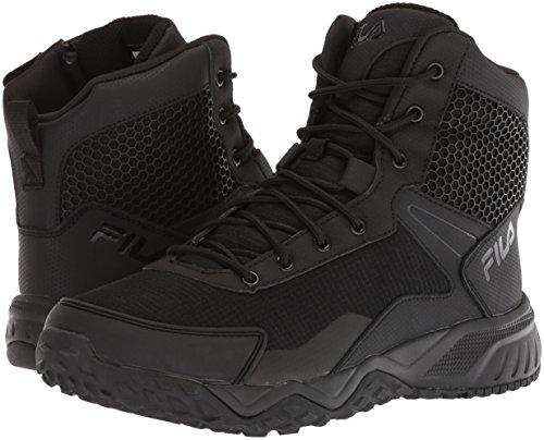 Fila Chastizer - Zapato militar y táctico para hombre, negro, 10.5