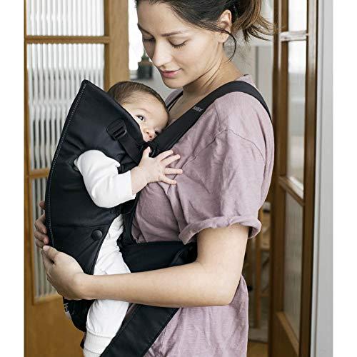 BabyBjörn Baby Carrier Mini, Cotton, Black
