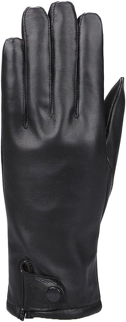 MoDA Women's Ms. Philadelphia Genuine Leather Fully Lined Winter Gloves