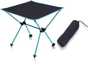 SODIAL Ultraleicht Tisch im Freien Mini Klappbarer Tragbarer Tisch Picknick Tisch Licht Aluminium Legierung Reise Tisch F/ür Wildes Camping