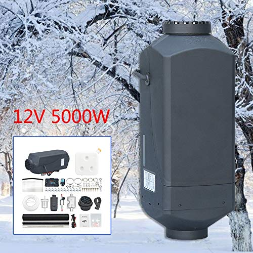 STHfficial Auto-verwarming, 12 V, 5000 watt, met afstandsbediening, lcd-monitor, voor RV Trucks Boa
