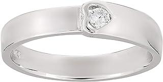 Ak Unisex Heart Design Valentines Ring