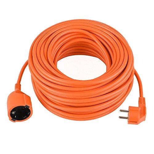 Preisvergleich Produktbild Verlängerungskabel Garten ORANGE Strom-Leitung 10m 20m 30m 40m 50m (20 m 3x1, 5mm2)