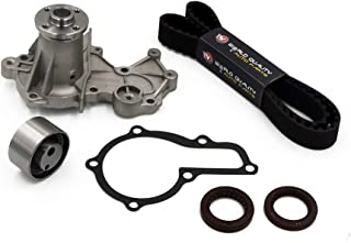 Timing Belt Water Pump Kit fits for 1998 Chevrolet Tracker, 1996 Geo Tracker, 1992-1998 Suzuki Sidekick, 1996-1998 Suzuki X-90, 1995-1997 Esteem 1.6L 16V SOHC G16KV