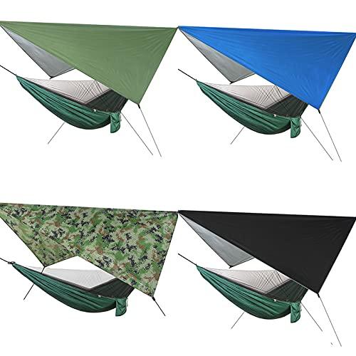 OKMNB Moskito-Camping-Insektennetz mit Tragetasche, kompakt und leicht, passend für Schlafsäcke, Bett, Zelt camouflage-310 * 310