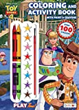 Disney Toy Story 4 Official Coloring Book with Paints and Crayons, Multicolor