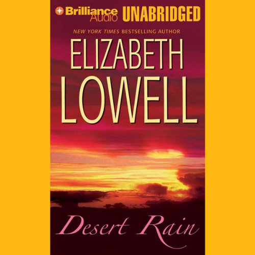 Desert Rain  audiobook cover art