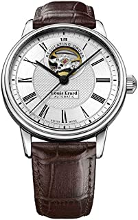Louis Erard - Reloj Automático Louis Erard Héritage Classic, Plata, 40 mm, 60266AA41.BDC80