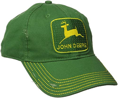 John Deere Toddler Kids Vintage Tm Cap-Green-Os