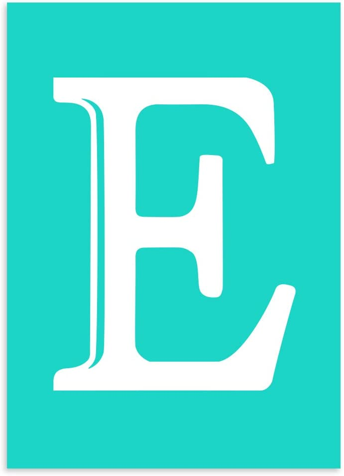 Chalk Transfers Monogram Silk Screnn unisex sale St Letter Printing Alphabet