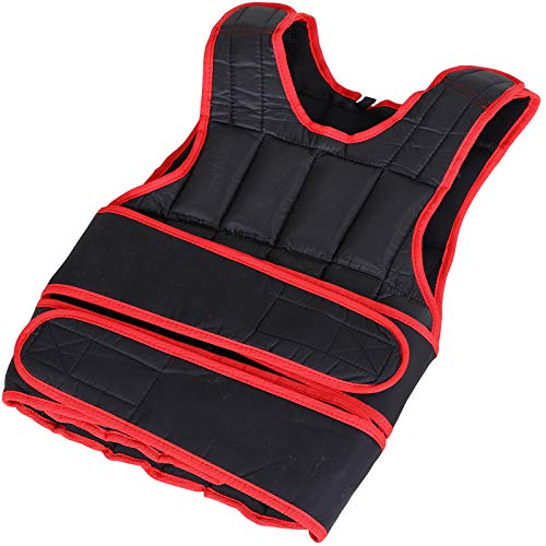 HOMCOM 10kg Men Or Women Waist Trainer Vest Adjustable Weighted w/ 38 Weight Bags Easy Use...