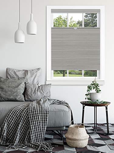 "Achim Home Furnishings, Dove Grey Top Down-Bottom Up Cordless Honeycomb Cellular Shade, 35""x64"", 35"" x 64"""