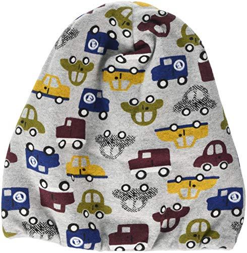 Sterntaler Baby-Jungen Bonnet Mütze, Grau (Silber Mel 542), 43