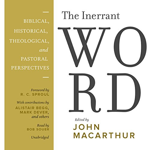 The Inerrant Word audiobook cover art