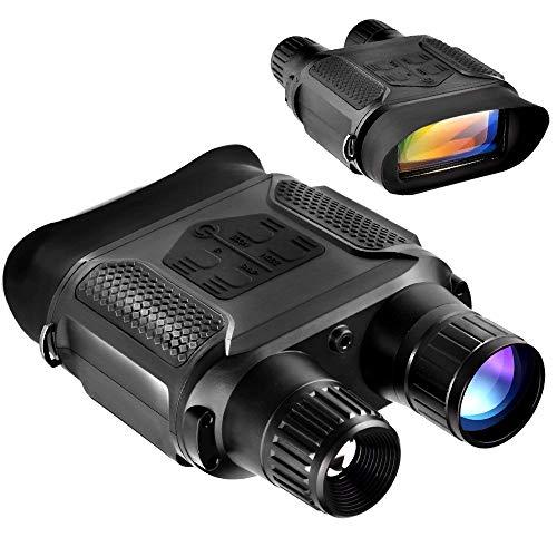 Solomark Digitales Nachtsichtgerät 7-fache Vergrößerung im Darkness Adjustable Fernglas, Digitales Infrarot Nachtsichtgerät 640x480p HD Foto Kamera Videorekorderinfrared ermöglicht