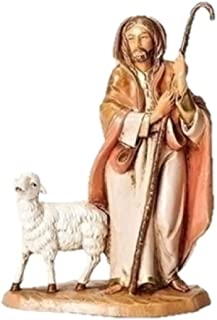 Fontanini The Good Shepherd with Sheep Italian Nativity Village Figurine