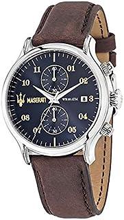 مزراتي ساعة يد رجاليه بسوار جلد، R8871618001