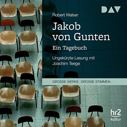 Jakob von Gunten: Ein Tagebuch Titelbild