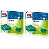 Juwel Nitrax Compact Bioflow 3.0 Material filtrante de esponja, auténtico, 2 unidades