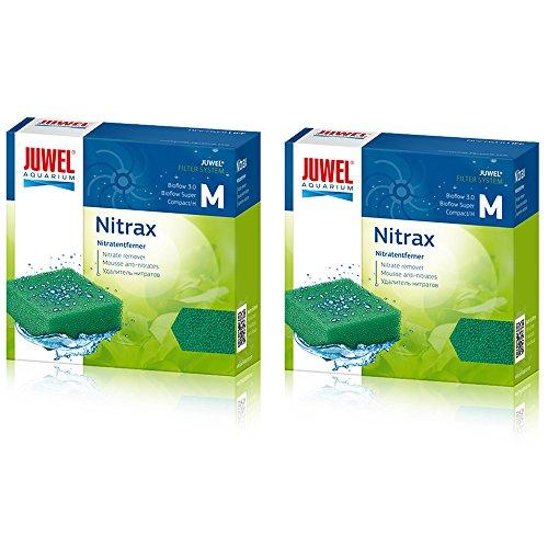 Juwel Compact Nitrax Schwamm Filter Media (Bioflow 3.0) (2Stück) Bundle