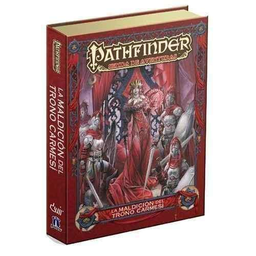 Devir 599386031 - Pathfinder. la maldición del Trono carmesí. Juego de rol